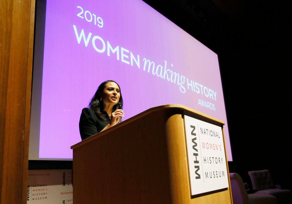 White House Correspondent Kristen Welker spoke onstage at the National Women's History Museum's Women Making History Awards at Carnegie Institution for Science on April 03, 2019 | Photo: Getty Images