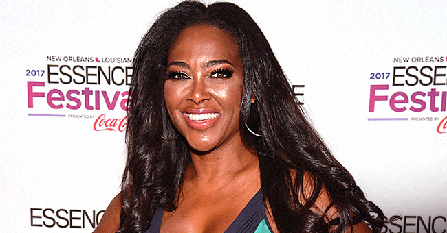 Kenya Moore's 'Happy Baby' Brooklyn Has Such an Infectious Giggle in New Video
