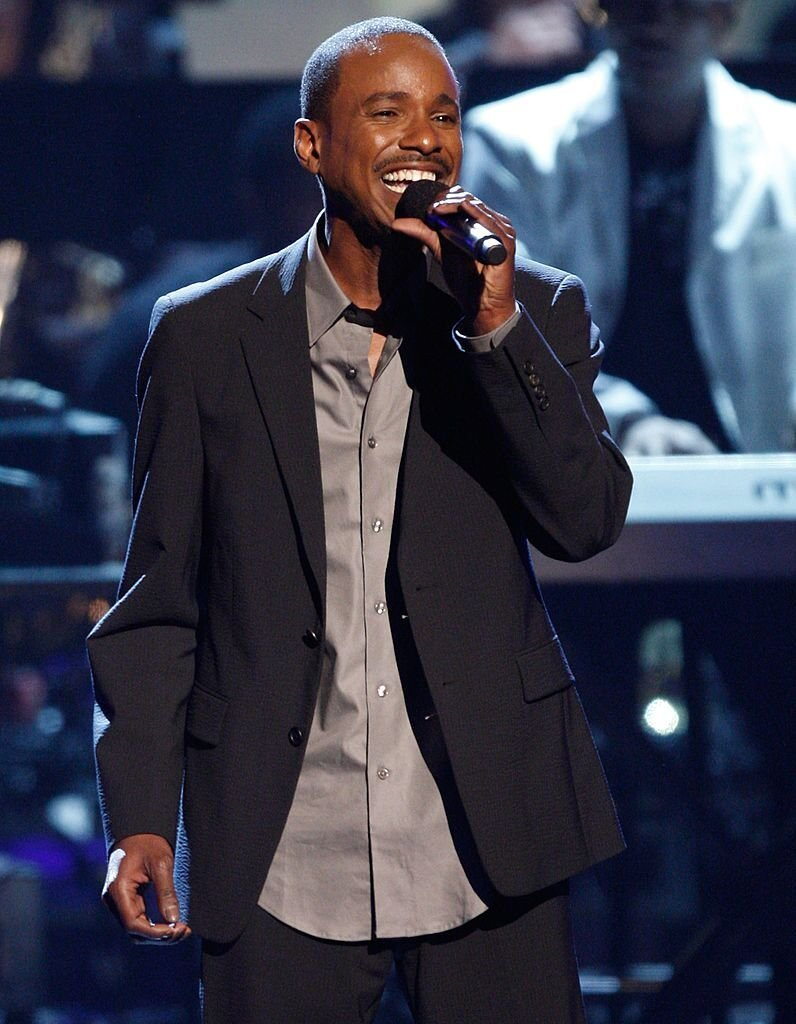 Tevin Campbell performing onstage at a concert | Source: Getty Images/GlobalImagesUkraine