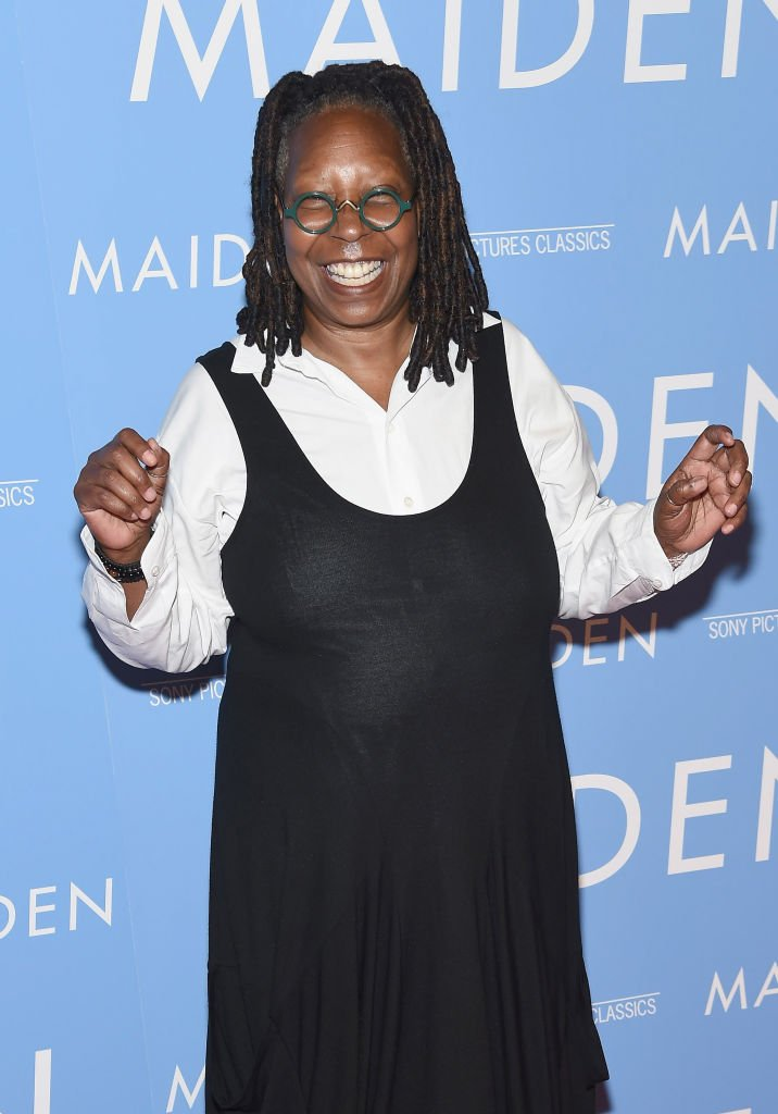 Whoopi Goldberg attends the 'Maiden' New York premiere at Landmark Theatre on June 25, 2019   Photo: Getty Images