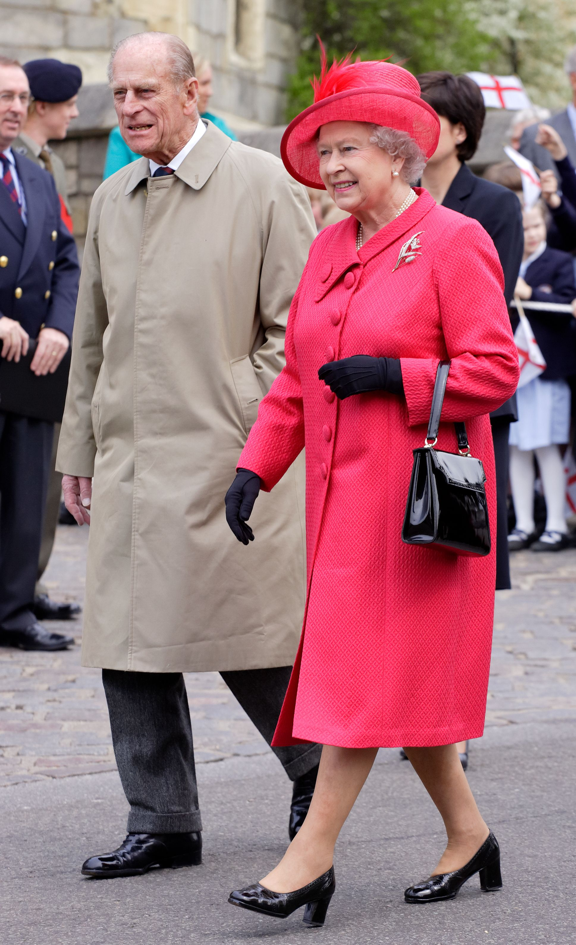Prince Philips and Queen Elizabeth on April 21, 2006 in Windsor, England. | Photo: Getty Images