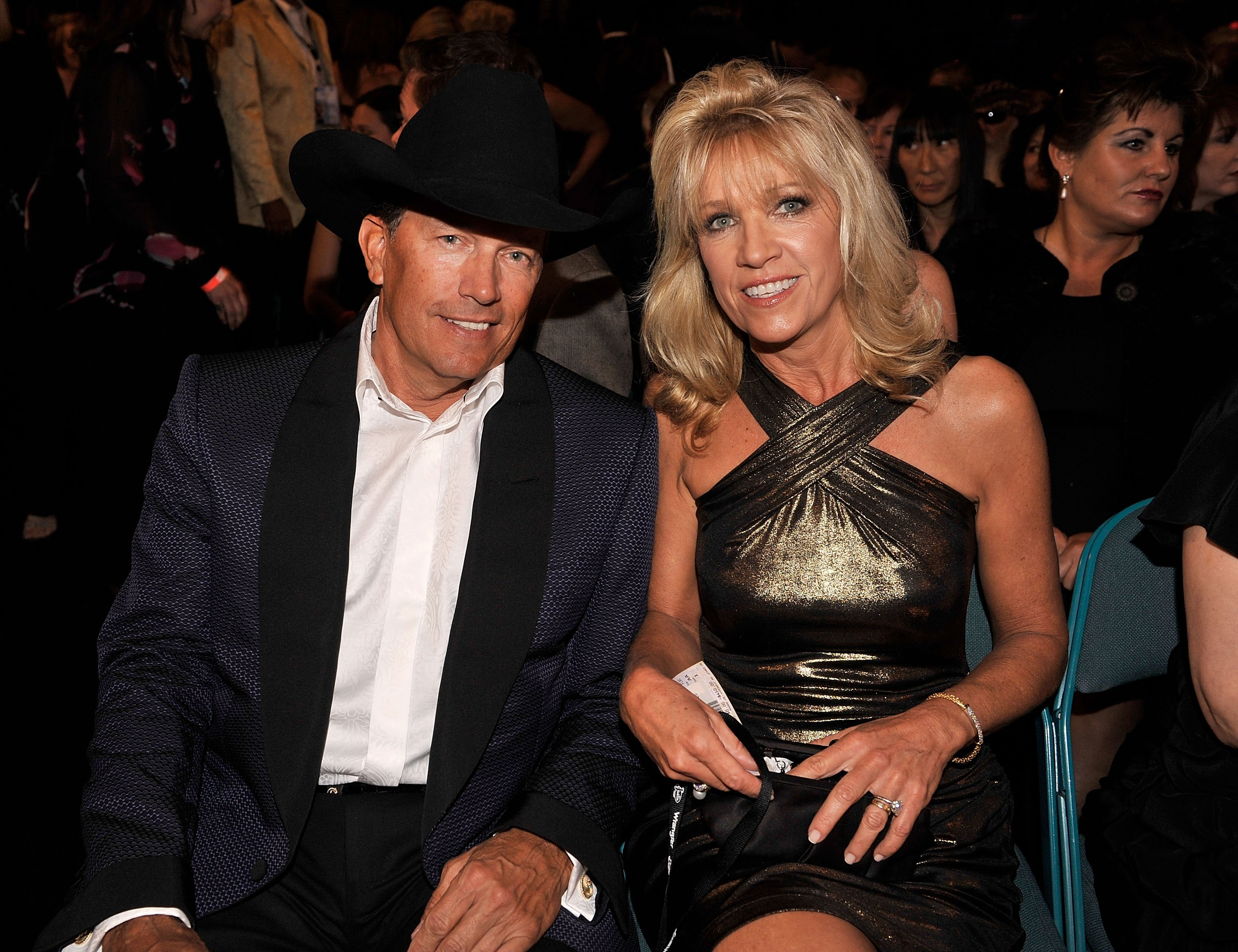 George Strait and wife Norma Strait during the 44th annual Academy Of Country Music Awards held at the MGM Grand. | Source: Getty Images