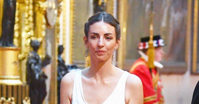 Rose Hanbury, marquesa de Cholmondeley, asiste a cena en honor a Trump en el Palacio de Buckingham. | Foto: Getty Images