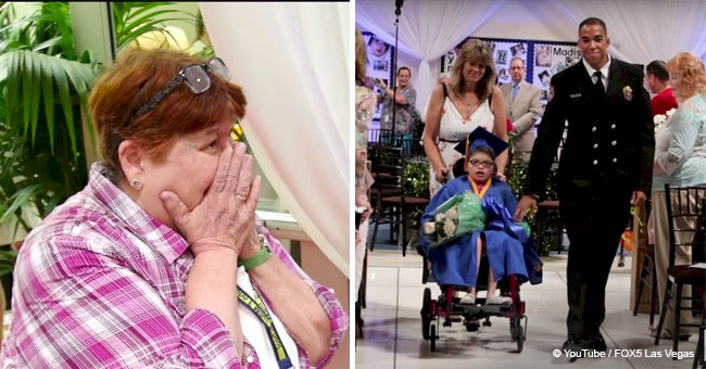 School students with disabilities receive an unforgettable graduation gift they did not expect