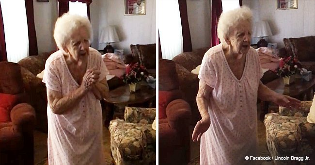 Video of 90-year-old woman singing gospel song goes viral