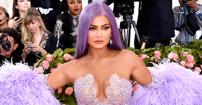 Kylie Jenner of KUWTK Gushes over Daughter Stormi's Recreation of Her Met Gala Look Including a Purple Wig