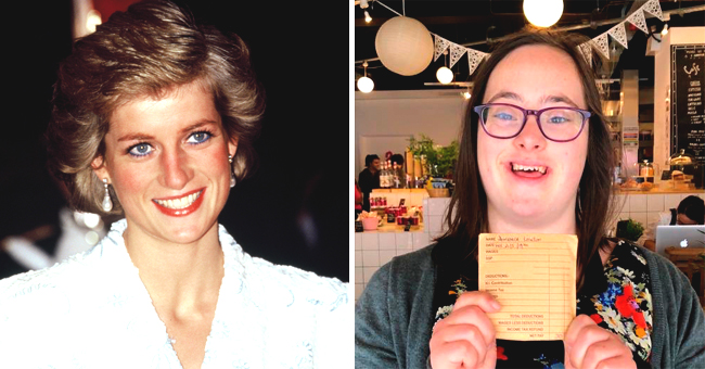 Princess Diana's Goddaughter with Down Syndrome, Domenica, Proudly Shows off Her First Paycheck