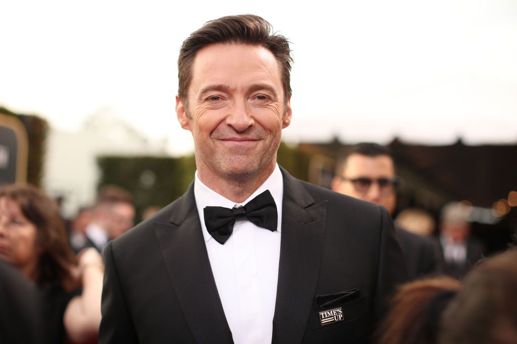 Hugh Jackman at to the 75th Annual Golden Globe Awards at the Beverly Hilton Hotel on January 7, 2018 | Getty Images