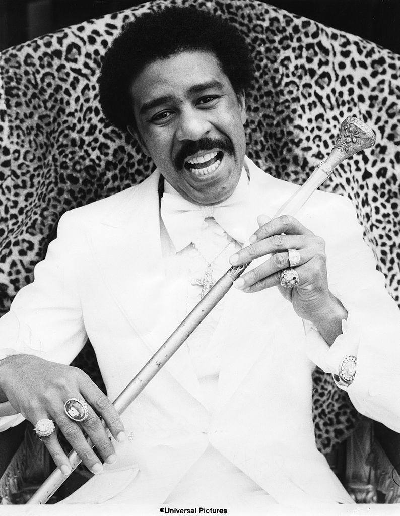 Comedian Richard Pryor in a scene from a movie in circa 1977. | Photo: Getty Images