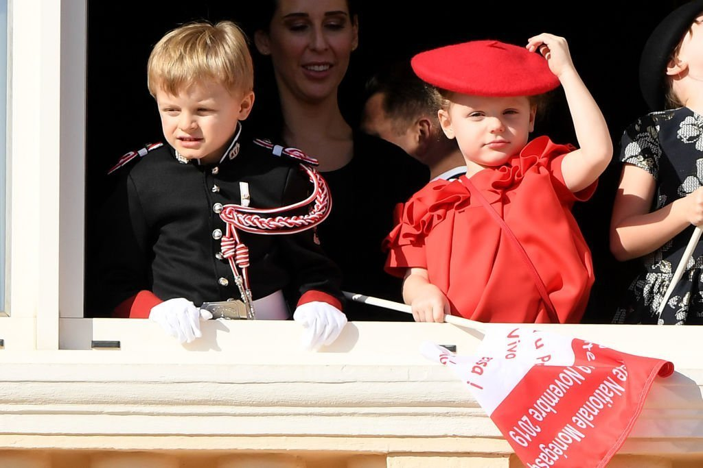 Prince Jacques of Monaco and Princess Gabriela of Monaco attend the Monaco National Day. | Source: Getty Images