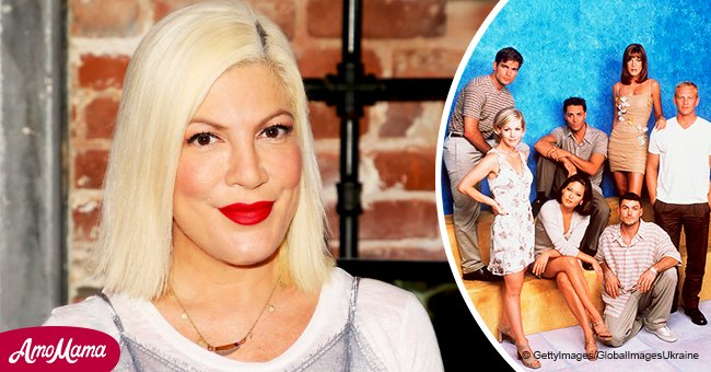 Tori Spelling accidentally let out some big news: revealed that 'Beverly Hills' is coming back