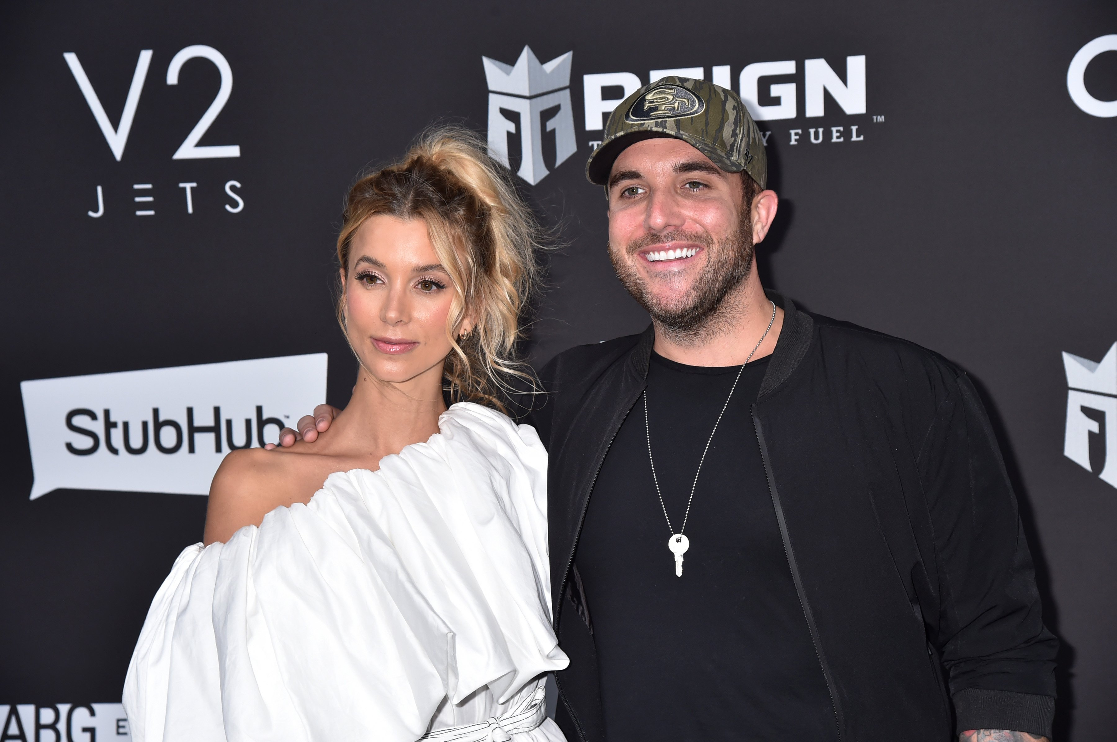Sabina Gadecki and Tyler Rich attend Sports Illustrated at Fontainebleau Hotel on February 01, 2020 in Miami Beach, Florida   Photo: Getty Images