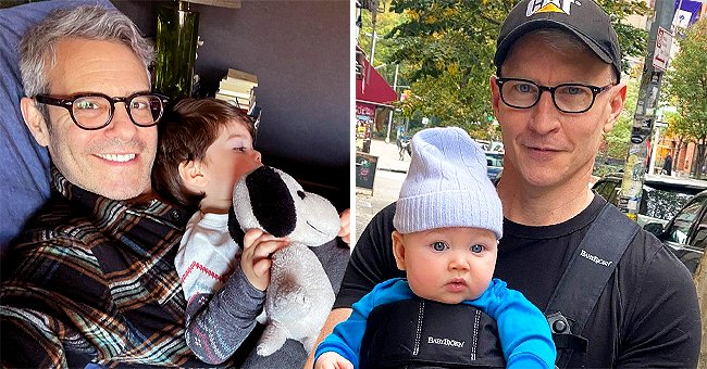 Anderson Cooper Admits Andy Cohen's Son Ben's Hand-Me-Downs Don't Match His Son Wyatt's Style