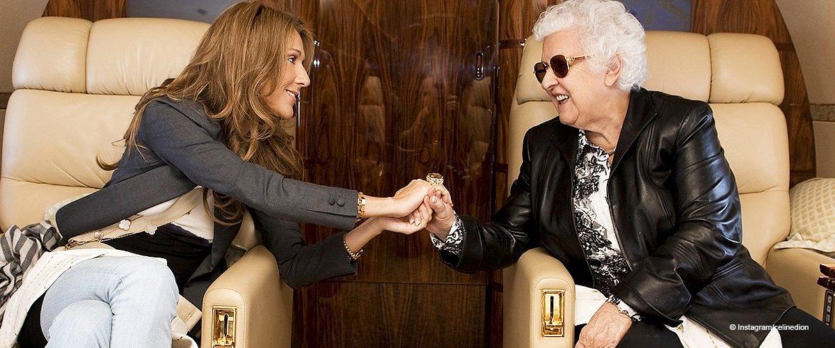 """""""Je t'aime"""" : Céline Dion dévoile la tendre photo de sa mère pour son anniversaire"""