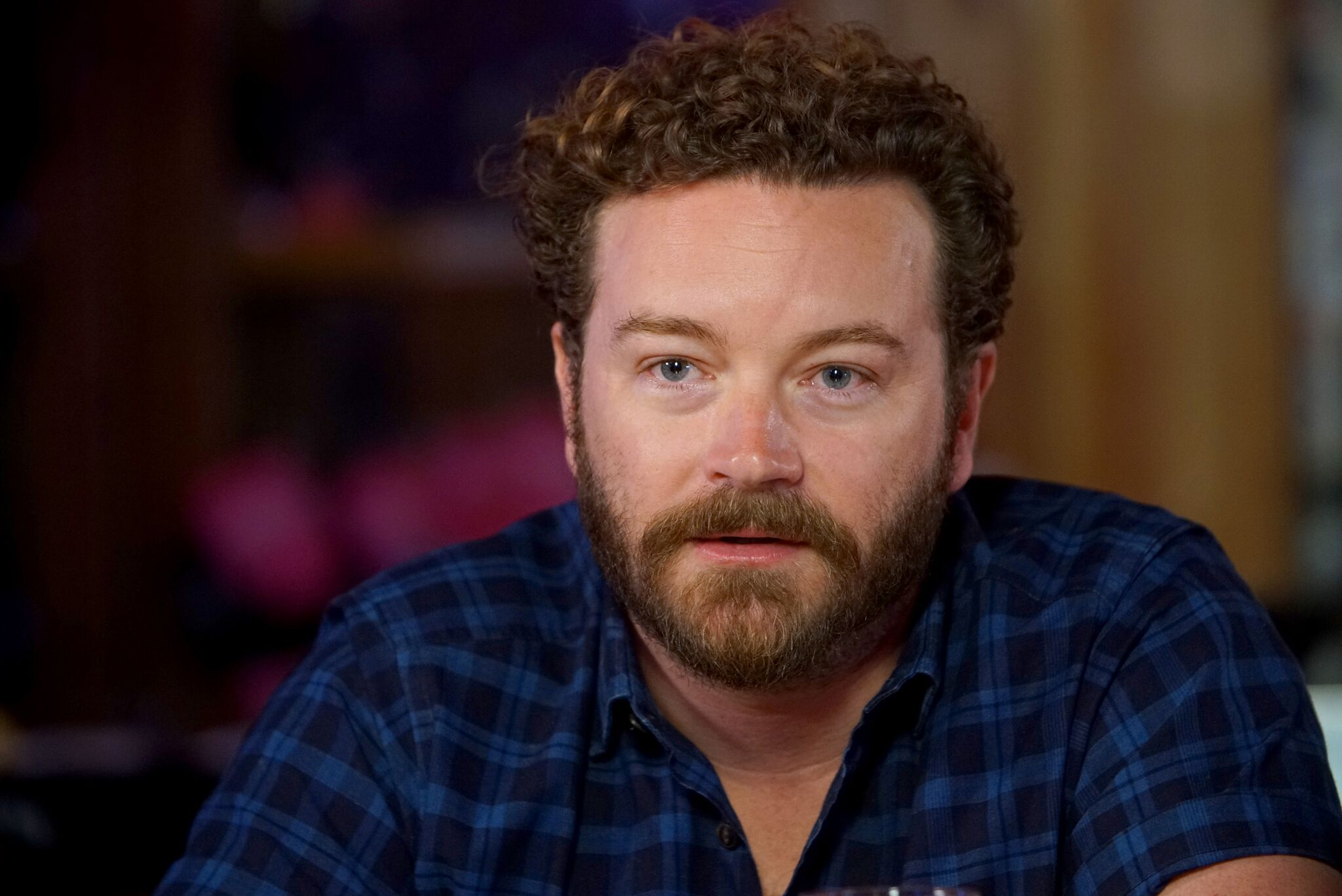 "Danny Masterson speaks during a Launch Event for Netflix ""The Ranch: Part 3"" hosted by Ashton Kutcher and Danny Masterson at Tequila Cowboy  