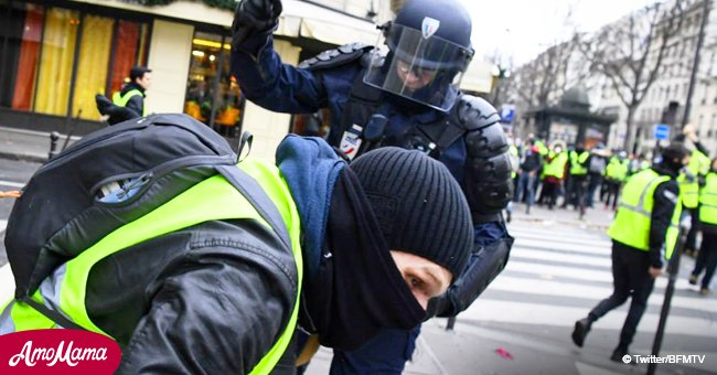 La police a ciblé 48 enquêtes pour des actes de violence sur des gilets jaunes