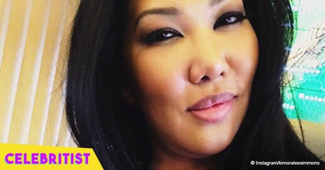 Kimora Lee Simmons' daughter turns heads in black mini dress showing off her new hairstyle