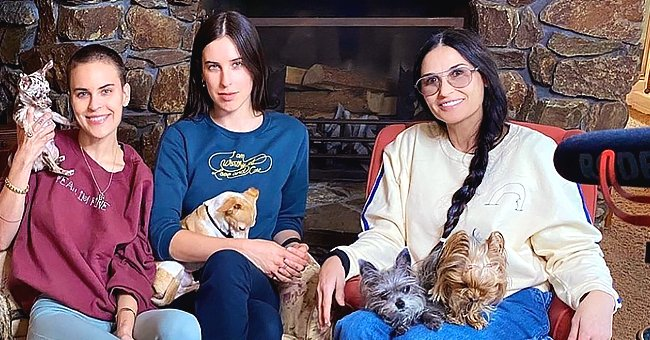 Demi Moore & Daughters Weigh in on Social Distancing While Quarantining Together