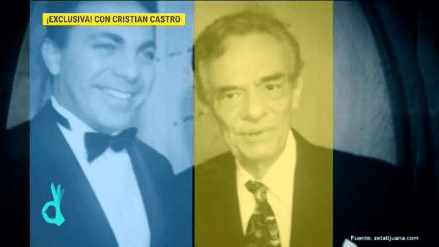 Cristian Castro con José José | Imagen tomada de: YouTube / Imagen Entretenimiento