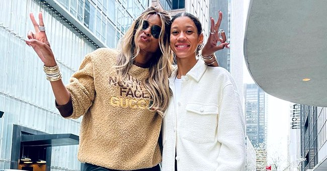 Ciara Is a Proud Sister-in-Law Posing With Russell's Sister Anna in a Snap with a Sweet Caption