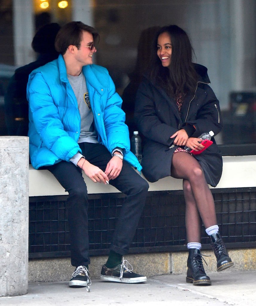 Rory Farquharson,Malia Obama are seen on January 20, 2018 in New York City | Photo: Getty Images