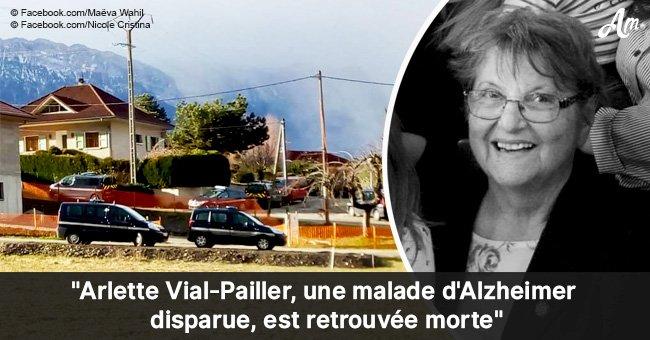 La disparition d'Arlette, atteinte de la maladie d'Alzheimer: son corps a été retrouvé