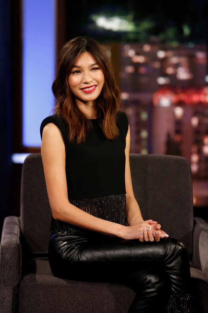 """Gemma Chan during her """"Jimmy Kimmel Live!"""" TV guesting in March 2019. 