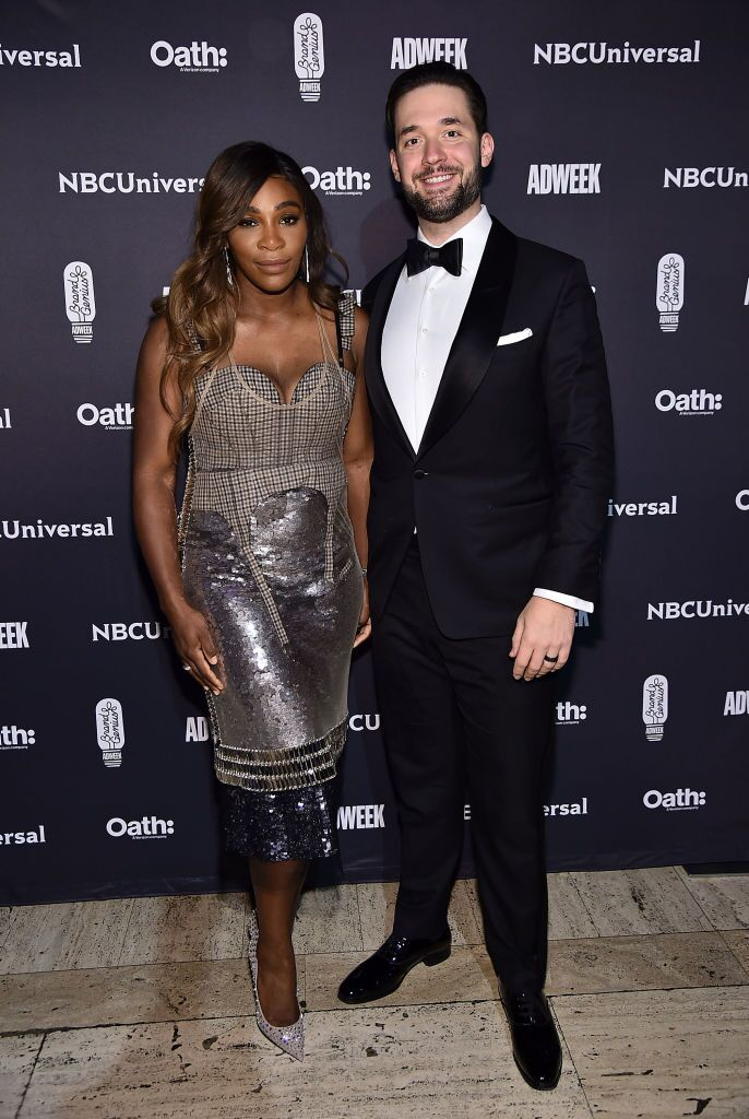 Serena Williams and Alexis Ohanian attend the 2018 Brand Genius Awards at Cipriani 25 Broadway | Getty Images / Global Images Ukraine