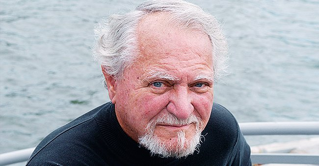 American author Clive Cussler poses while on a visit to Paris,France on the 13th of September 2004 | Photo: Getty Images
