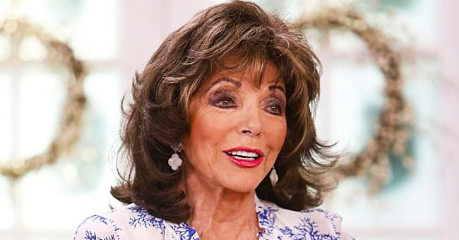 Joan Collins Compares Socially-Distanced Oscars 2021 to Previous Years