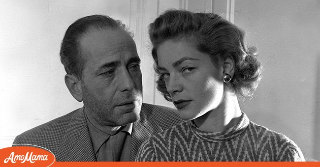 A picture of Humphrey Bogart and his wife, Lauren Bacall | Photo: Getty Images