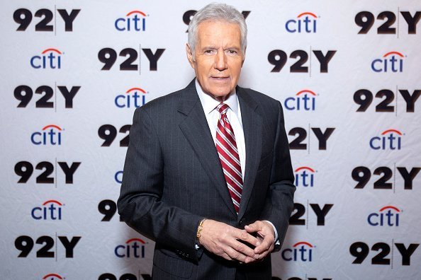 "Alex Trebek attends the ""Who is Alex Trebek?"" in celebration of 35 seasons of Jeopardy!' at 92nd Street Y 
