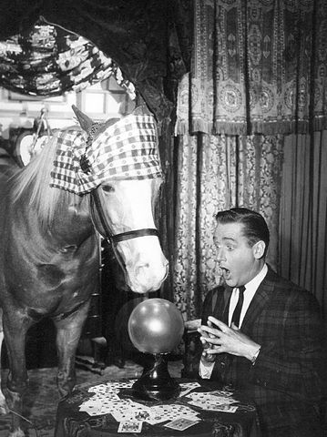 "Alan Young in ""Mister Ed"" in 1964. 