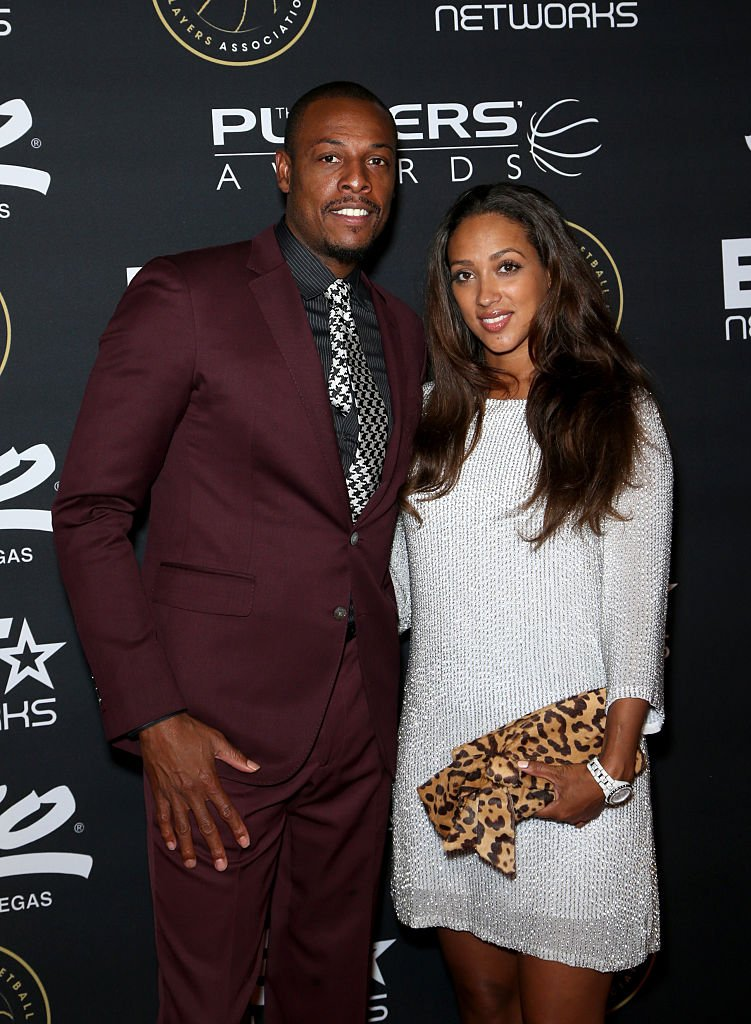 NBA player Paul Pierce (L) of the Los Angeles Clippers and Julie Pierce attend The Players' Awards presented by BET at the Rio Hotel & Casino on July 19, 2015 in Las Vegas, Nevada. | Photo: Getty Images