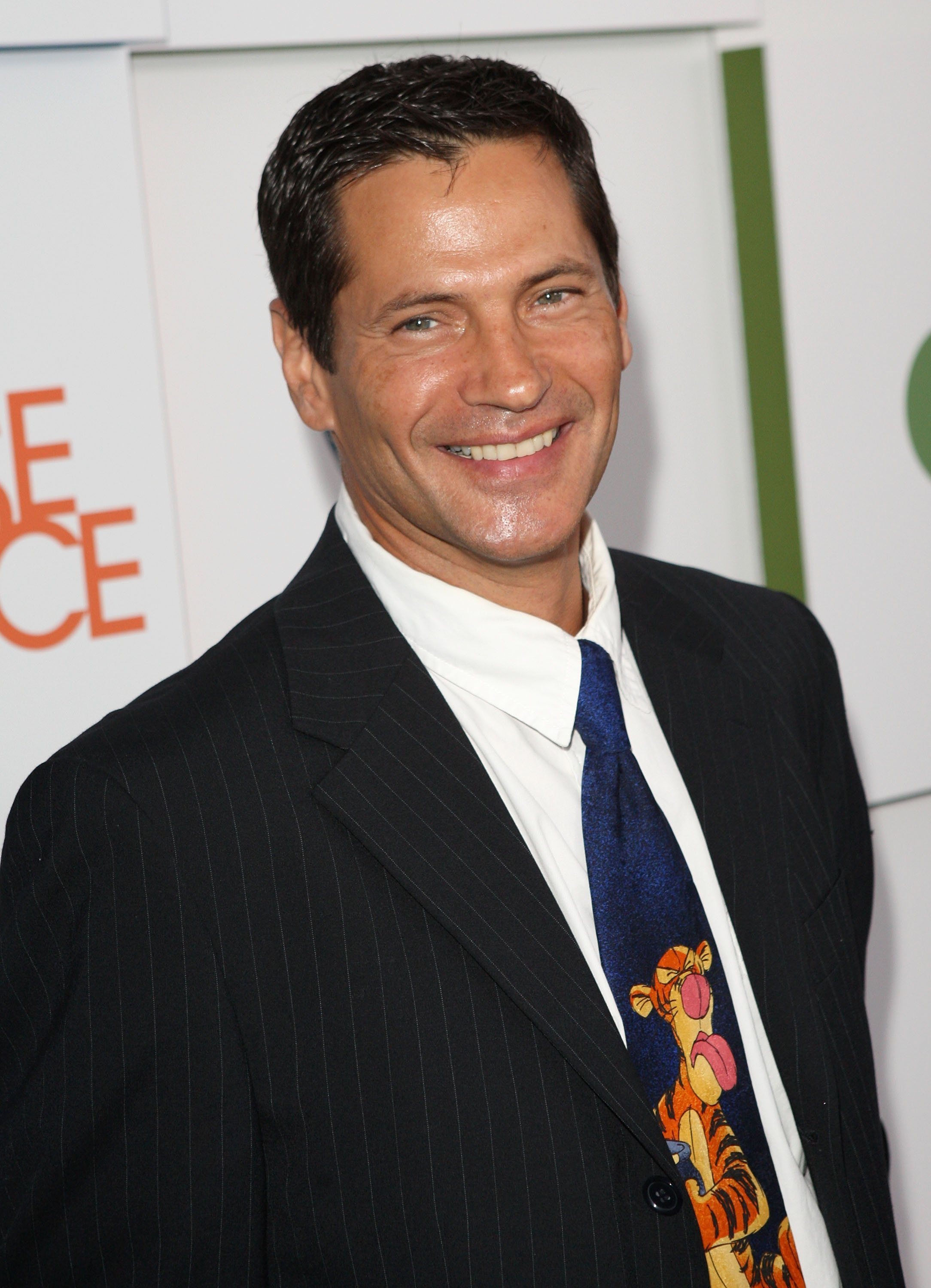 """Thomas Calabro arrives at the CW & AT&T's """"Melrose Place"""" premiere party on Melrose Place on August 22, 2009, in Los Angeles, California. 