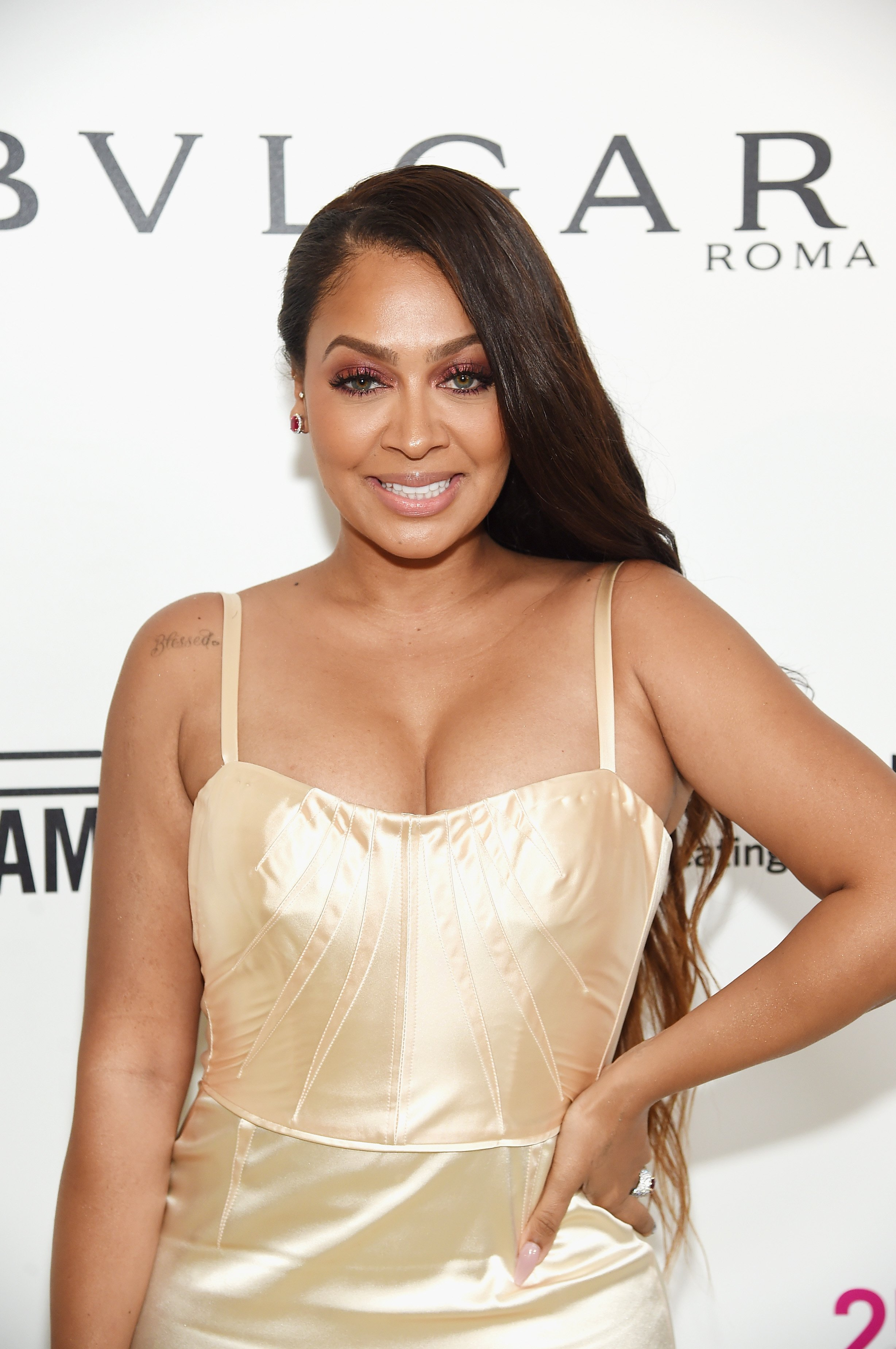 La La Anthony at the 26th annual Elton John AIDS Foundation Academy Awards Viewing Party on March 4, 2018 in West Hollywood | Photo: Getty Images