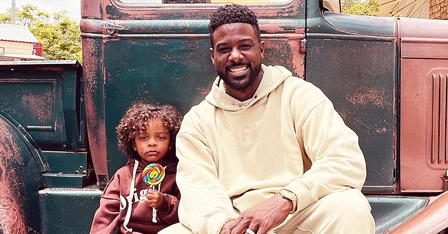 'House of Payne's Lance Gross & His Only Son Lennon Pose in Urban-Styled Outfits in a New Photo
