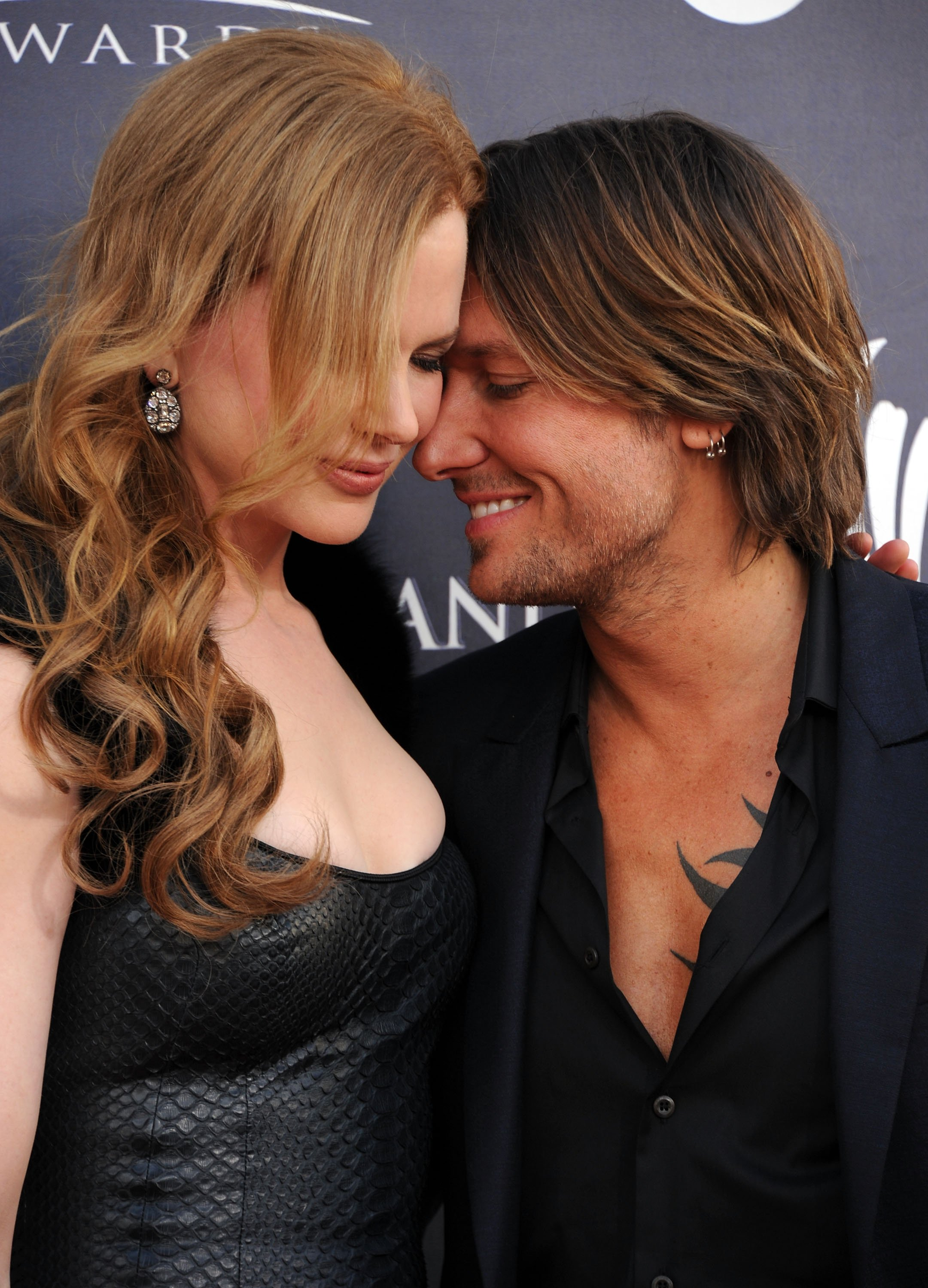 Nicole Kidman and Keith Urban arrive at the 46th Annual Academy Of Country Music Awards RAM Red Carpet on April 3, 2011. | Source: Getty Images