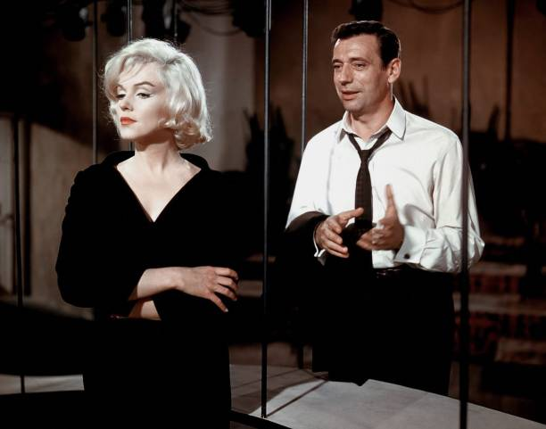 Yves Montand et Marilyn Monroe   Photo : Getty Images