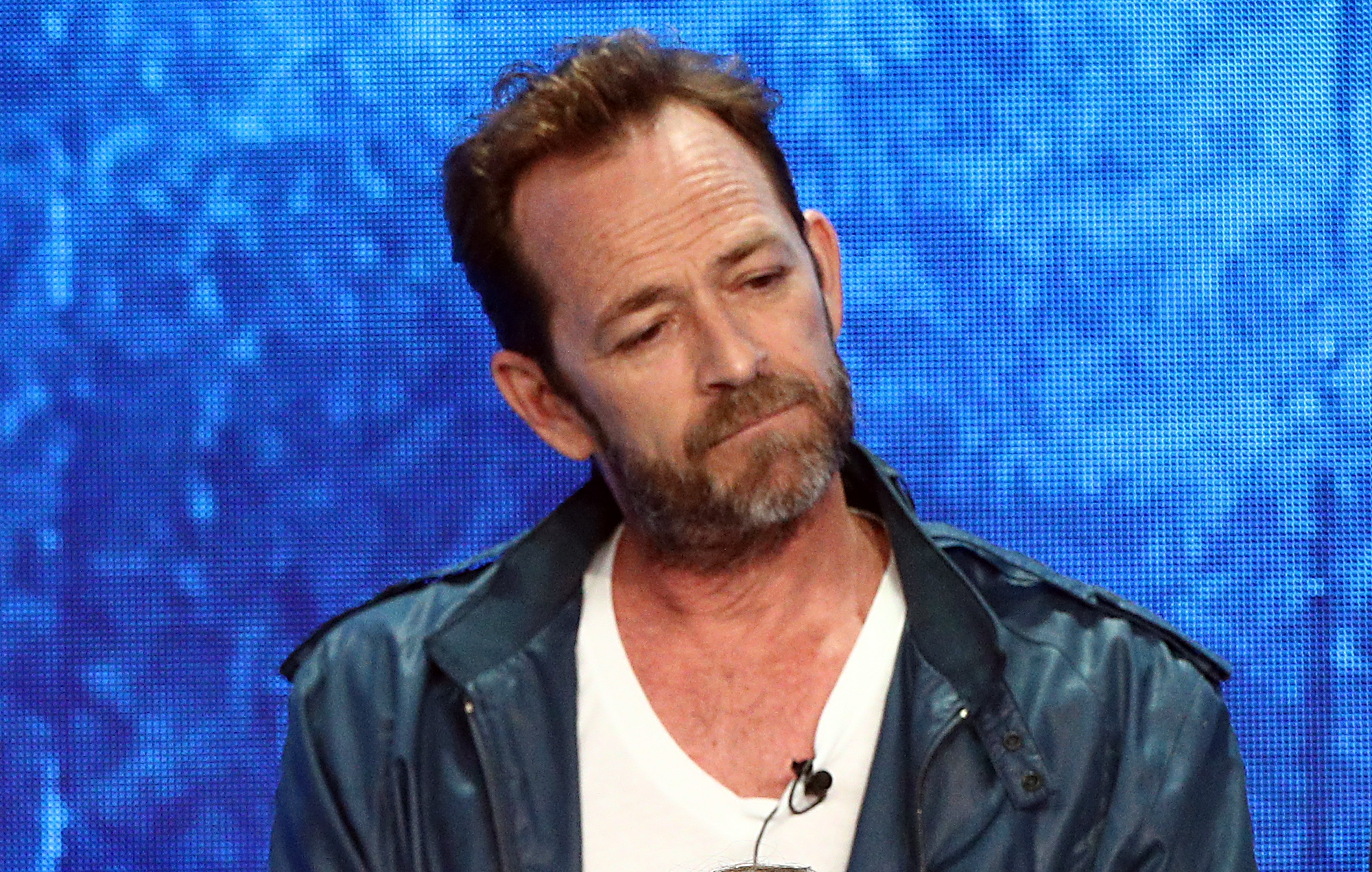 Luke Perry at the Summer 2018 TCA Press Tour at the Beverly Hilton Hotel | Photo: Getty Images