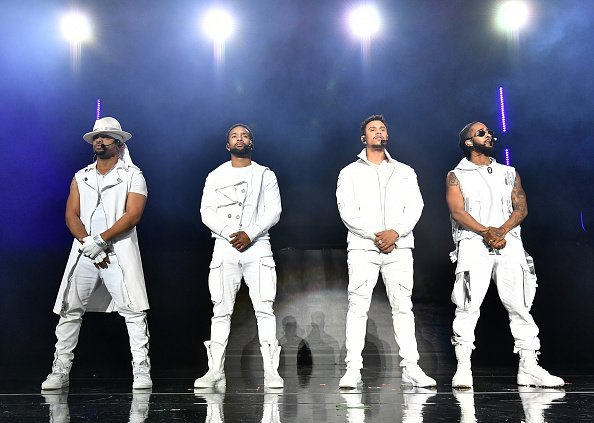 Raz-B, J-Boog, Lil' Fizz, and Omarion of B2K performs onstage during their The Millennium Tour on April 05, 2019 | Photo: Getty Images