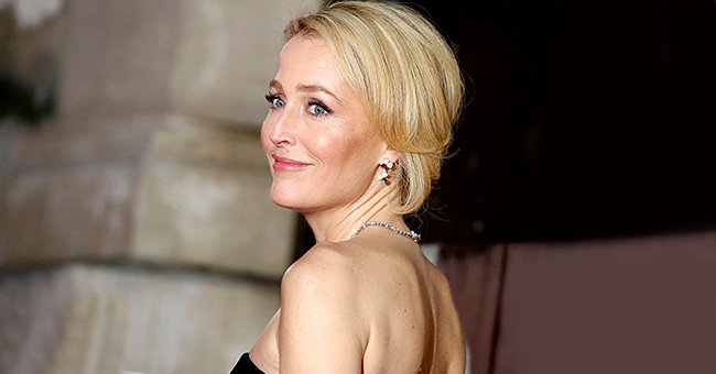 Gillian Anderson pictured the EE British Academy Film Awards 2020, London, England. | Photo: Getty Images