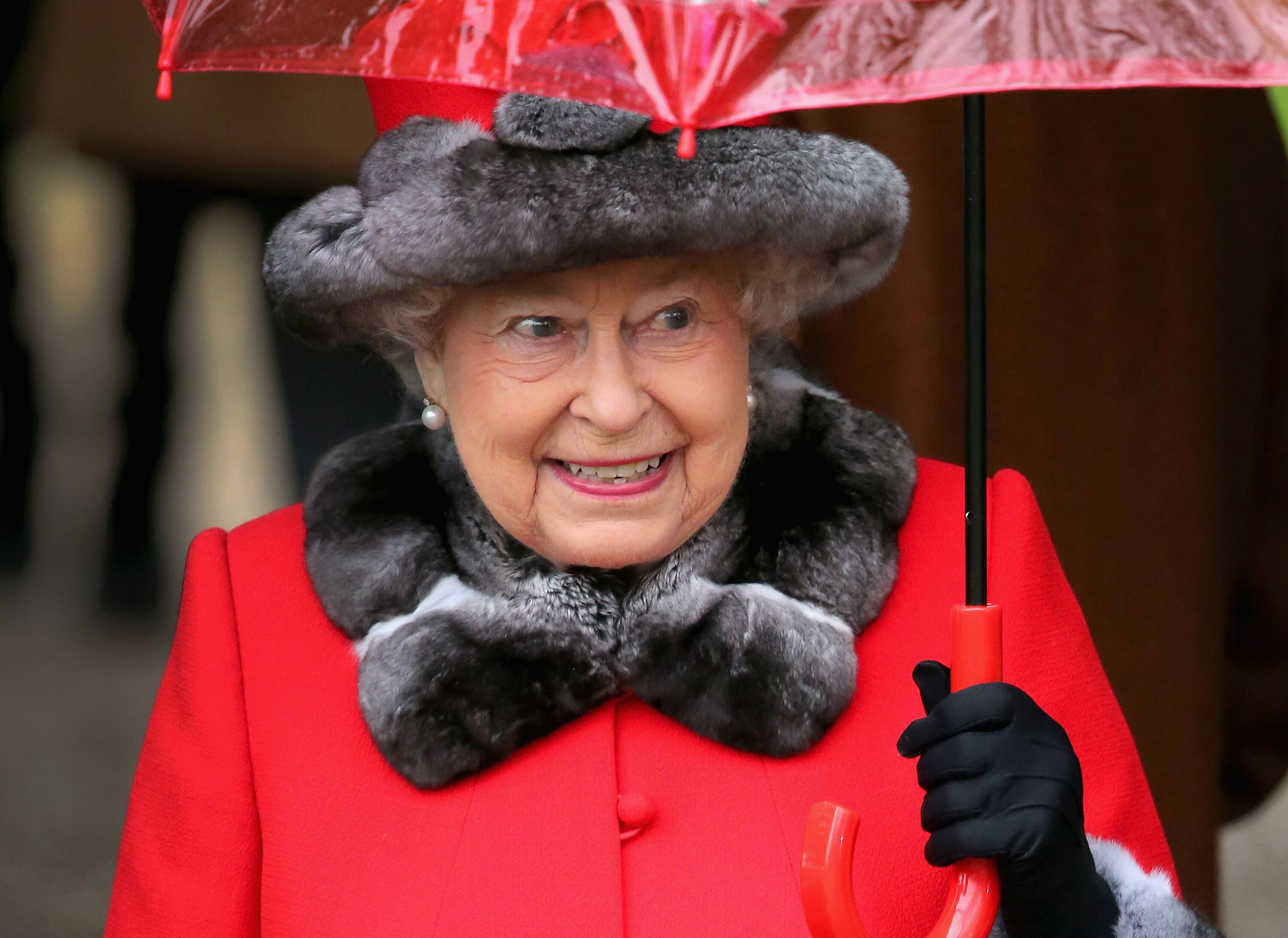 Queen Elizabeth II at a Christmas Day church service at Sandringham on December 25, 2015, in King's Lynn, England   Photo: Chris Jackson/Getty Images