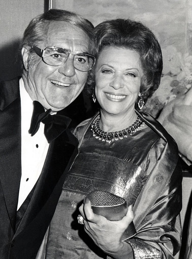 Jim Backus and Helen Gurley Brown  | Photo: Getty Images