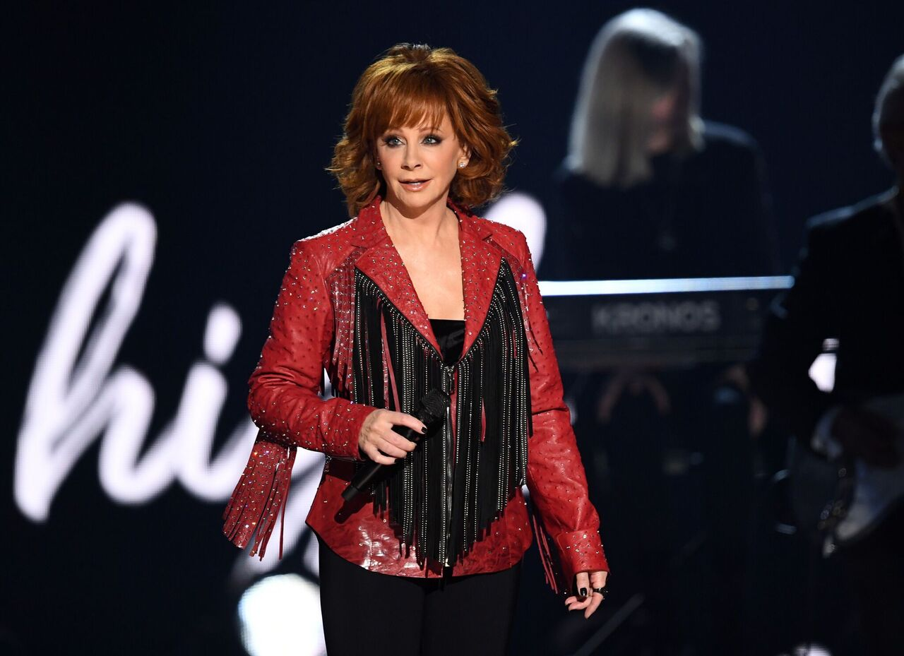 Reba McEntire performs onstage during the 54th Academy Of Country Music Awards. | Source: Getty Images