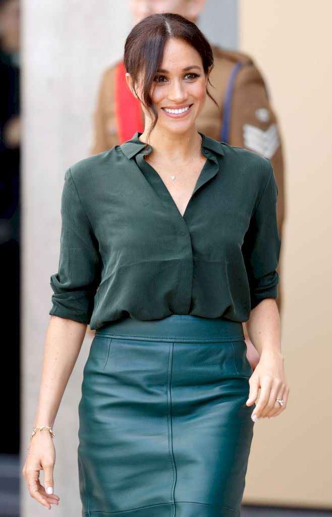 Meghan, Duchess of Sussex visits the University of Chichester's Engineering and Technology Park Source | Photo: Getty Images