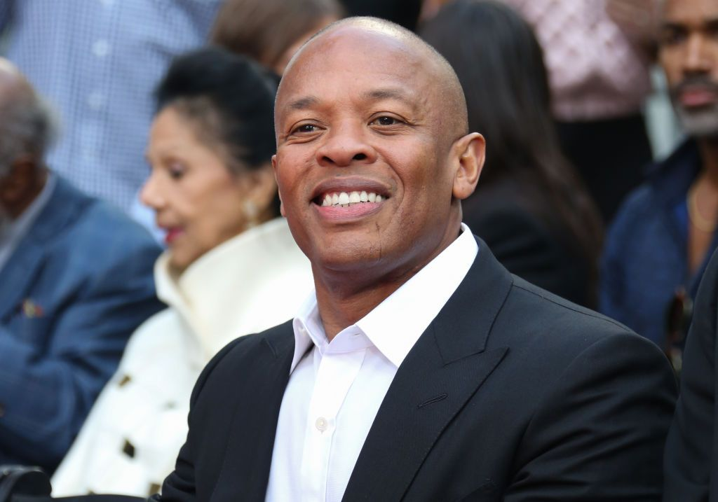 Dr. Dre attends the Quincy Jones Hand and Footprint ceremony at the TCL Chinese Theatre IMAX on November 27, 2018   Photo: Getty Images