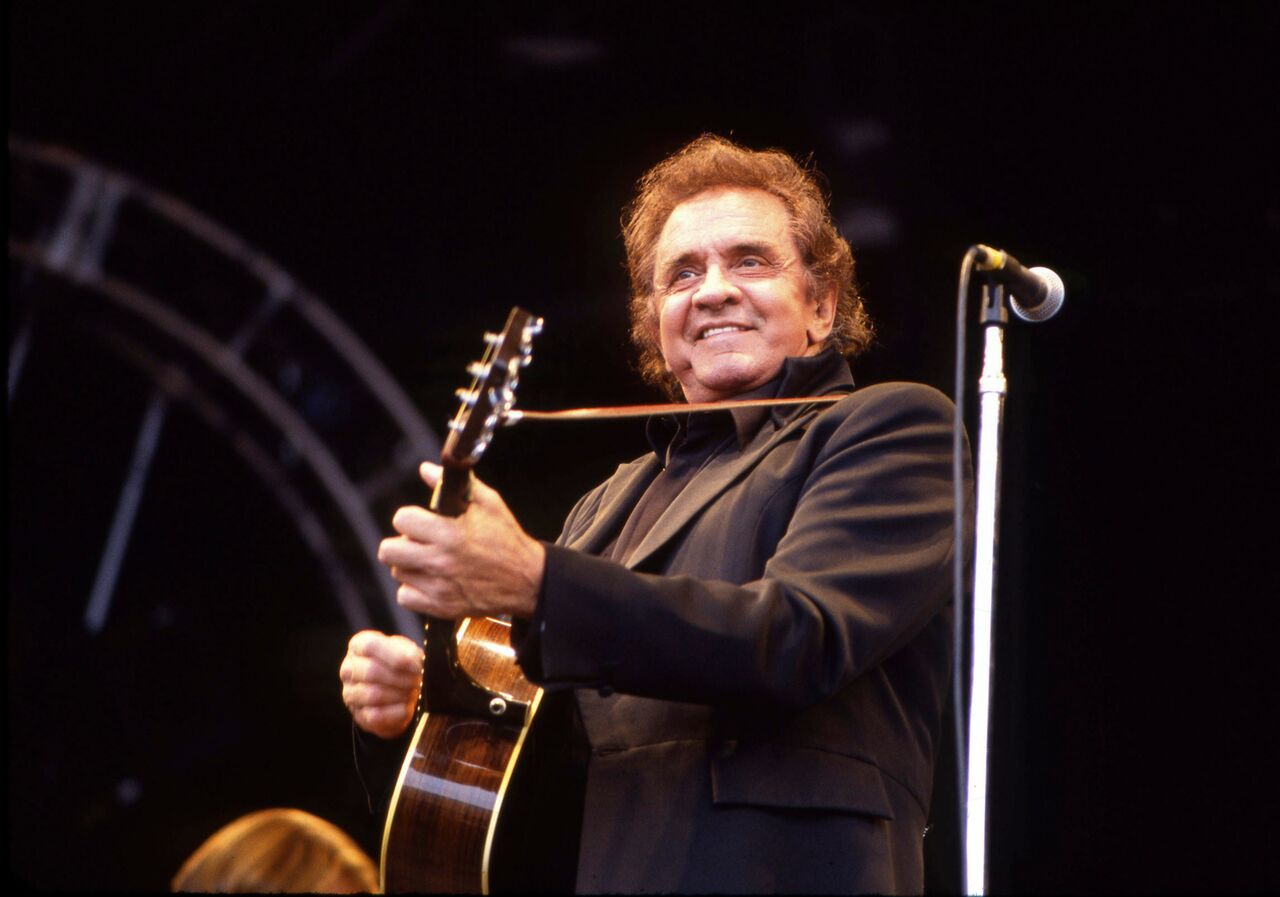 Johnny Cash attends the Johnny Cash Glastonbury Festival. | Source: Getty Images