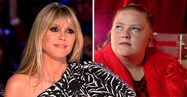 AGT Fans Get Furious after Heidi Klum Buzzed Plus-Size Dancer Amanda LaCount