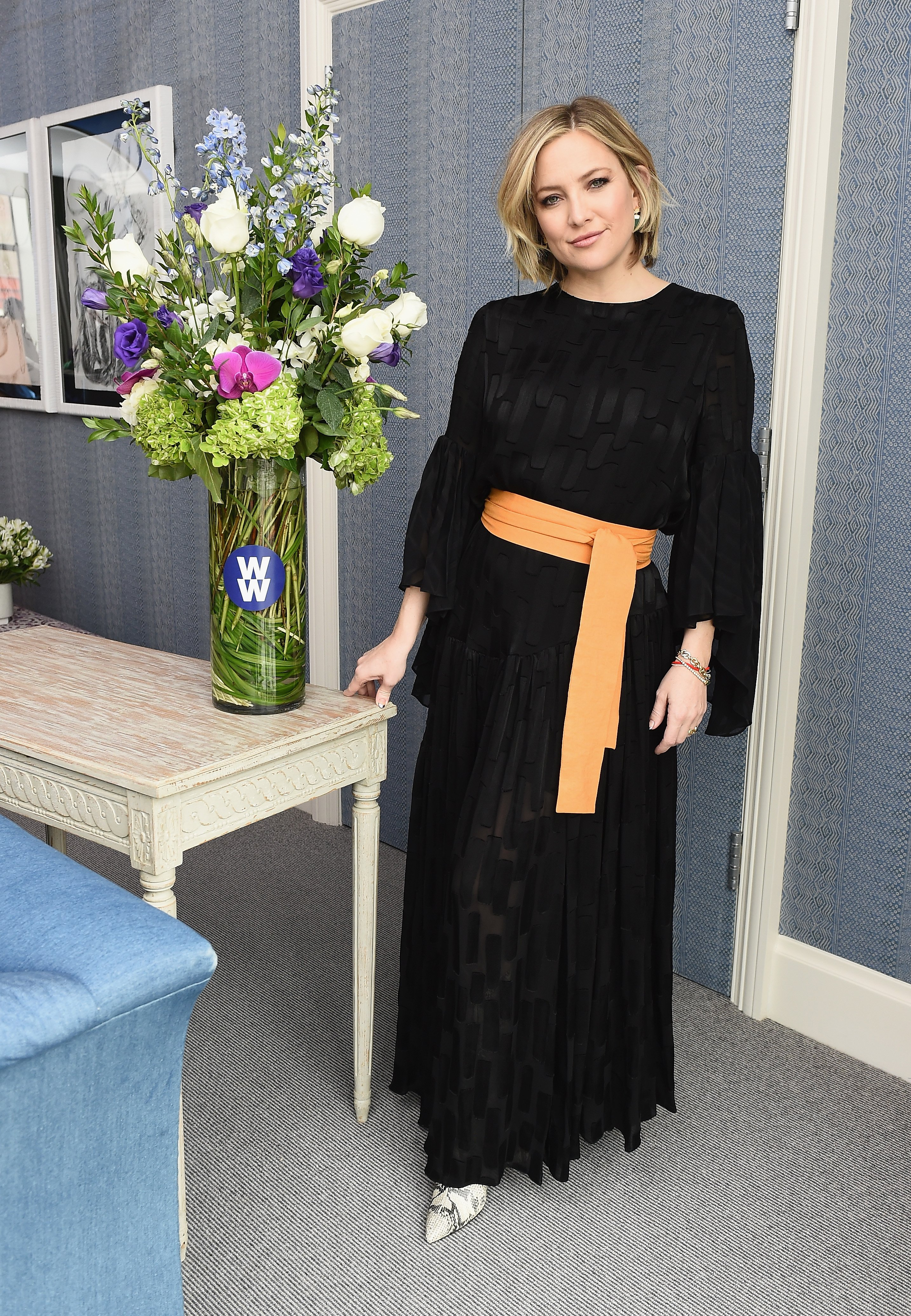 Kate Hudson talks about wellness, family and finding balance on January 10, 2019 in New York City | Photo: Getty Images